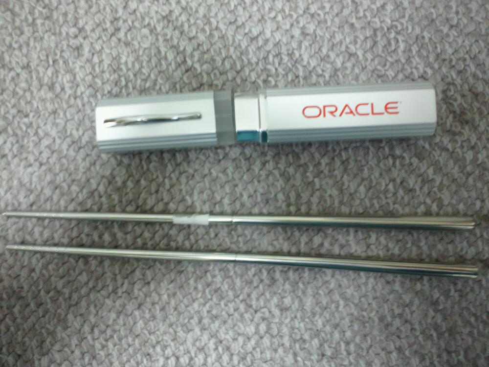 オラクル,携帯箸