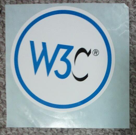 W3C,シール