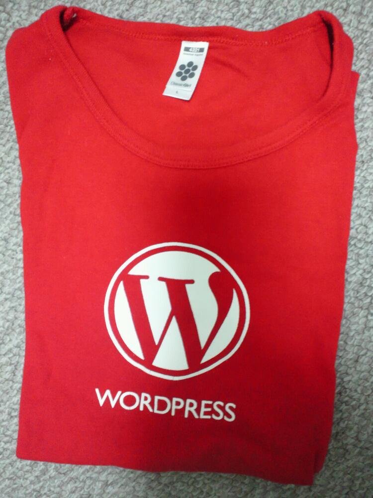 ワードプレス,Tシャツ